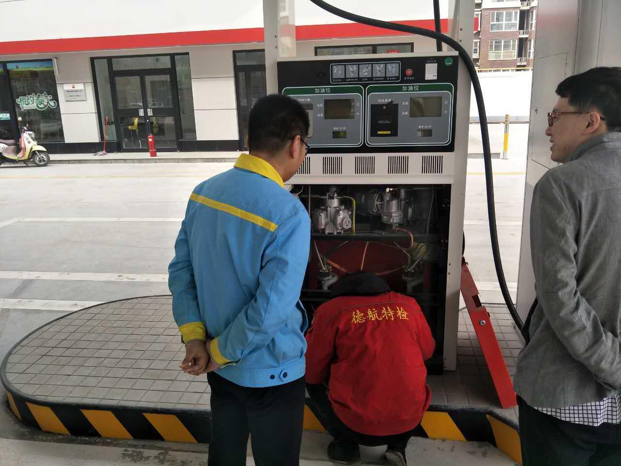 石家庄市鹿泉区卓越加油站油气回收检测