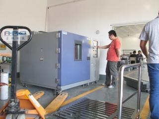 河北广龙铝制品有限公司设备验收比对检测